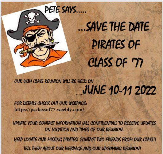 Putnam City High School Class of 1977 45th Reunion 2022